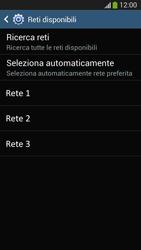 Samsung SM-G3815 Galaxy Express 2 - Rete - Selezione manuale della rete - Fase 10