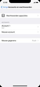 Apple iPhone X - E-mail - Account instellen (POP3 met SMTP-verificatie) - Stap 15