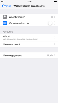 Apple iPhone 6 Plus - iOS 12 - E-mail - Handmatig instellen (yahoo) - Stap 9