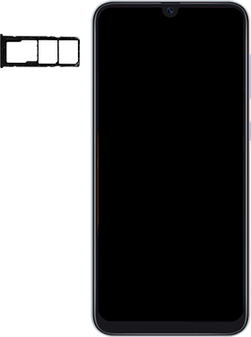 Samsung Galaxy A50 - Premiers pas - Insérer la carte SIM - Étape 3