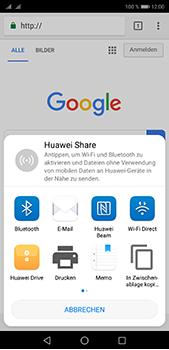 Huawei P20 Pro - Internet und Datenroaming - Verwenden des Internets - Schritt 21