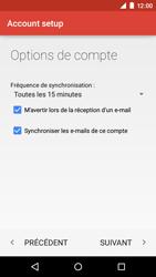 Motorola Moto E (1st Gen) (Lollipop) - E-mails - Ajouter ou modifier un compte e-mail - Étape 23