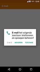 Crosscall Action X3 - E-mail - e-mail instellen: POP3 - Stap 5