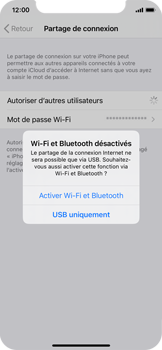 Apple iPhone XS - iOS 14 - WiFi - Comment activer un point d'accès WiFi - Étape 7