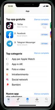 Apple iPhone SE - iOS 13 - Applicazioni - Configurazione del negozio applicazioni - Fase 6