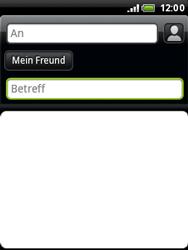 HTC A3333 Wildfire - E-Mail - E-Mail versenden - Schritt 8