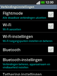 LG E400 Optimus L3 - bluetooth - headset, carkit verbinding - stap 5