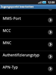 Samsung Galaxy Mini - MMS - Manuelle Konfiguration - 2 / 2