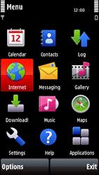 Nokia 5800 Xpress Music - Internet - Internet browsing - Step 2
