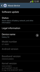 Samsung I9505 Galaxy S IV LTE - Device - Software update - Step 7