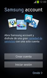 Samsung S7560 Galaxy Trend - Primeros pasos - Activar el equipo - Paso 9