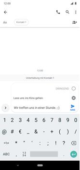 Nokia 6.1 Plus - Android Pie - MMS - Erstellen und senden - Schritt 12