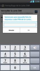 LG Optimus F5 - Sécuriser votre mobile - Personnaliser le code PIN de votre carte SIM - Étape 9