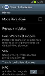 Samsung Galaxy Express - Internet et roaming de données - Désactivation du roaming de données - Étape 5
