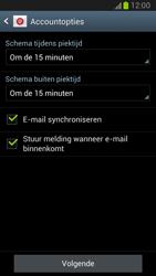 Samsung N7100 Galaxy Note II - E-mail - Handmatig instellen - Stap 13