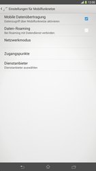 Sony Xperia Z Ultra LTE - MMS - Manuelle Konfiguration - 0 / 0