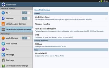 Samsung Galaxy Tab 3 10-1 LTE - Internet et roaming de données - Désactivation du roaming de données - Étape 5