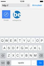 Apple iPhone 4 S iOS 7 - Internet - Internetten - Stap 16