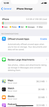 Apple iPhone X - Applications - How to uninstall an app - Step 8