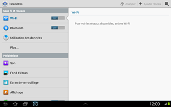 Samsung P5100 Galaxy Tab 2 10-1 - Bluetooth - connexion Bluetooth - Étape 6
