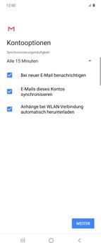 Samsung Galaxy Z flip - E-Mail - 032b. Email wizard - Yahoo - Schritt 12