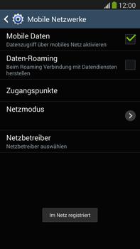 Samsung Galaxy Note III LTE - Netzwerk - Manuelle Netzwerkwahl - Schritt 10