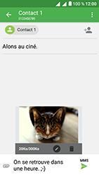 Alcatel U5 - Contact, Appels, SMS/MMS - Envoyer un MMS - Étape 20