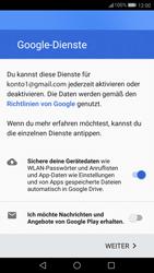 Huawei P10 Lite - Apps - Konto anlegen und einrichten - 0 / 0
