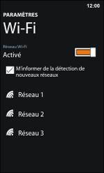 Nokia Lumia 800 / Lumia 900 - WiFi - Configuration du WiFi - Étape 6