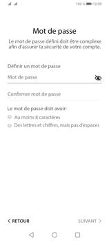 Huawei Y6P - Applications - Créer un compte - Étape 16