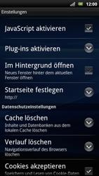 Sony Ericsson Xperia Arc S - Internet - Manuelle Konfiguration - Schritt 17