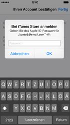 Apple iPhone 5S mit iOS 8 - Apps - Konto anlegen und einrichten - Schritt 37