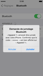 Apple iPhone 5s - Bluetooth - connexion Bluetooth - Étape 8