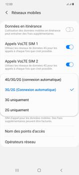 Samsung Galaxy Note20 - Internet et connexion - Activer la 4G - Étape 7