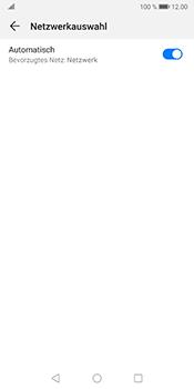 Huawei Mate 10 Pro - Android Pie - Netzwerk - Manuelle Netzwerkwahl - Schritt 6