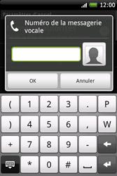 HTC A6262 Hero - Messagerie vocale - Configuration manuelle - Étape 6
