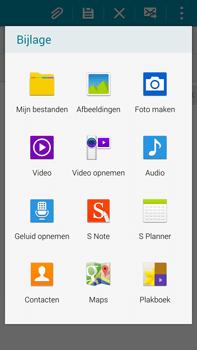 Samsung N910F Galaxy Note 4 - E-mail - E-mails verzenden - Stap 11