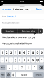 Apple iPhone SE (iOS 11) - e-mail - hoe te versturen - stap 9