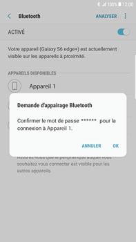Samsung Galaxy S6 Edge+ - Android Nougat - Bluetooth - connexion Bluetooth - Étape 10