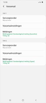 Samsung Galaxy S20 Ultra 5G Dual SIM eSIM SM-G988B - Voicemail - Handmatig instellen - Stap 7