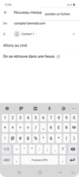 Samsung Galaxy A71 - E-mails - Envoyer un e-mail - Étape 11