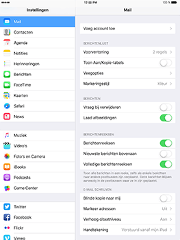 Apple iPad mini 4 iOS 10 - E-mail - Handmatig instellen (outlook) - Stap 4