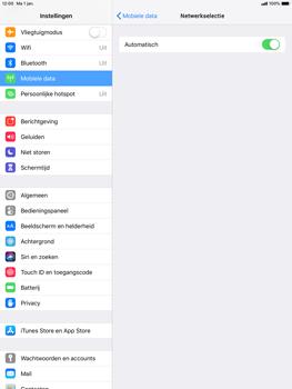 Apple ipad-pro-10-5-inch-ios-12 - Netwerk selecteren - Handmatig een netwerk selecteren - Stap 6