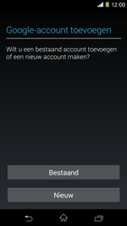 Sony Xperia M2 - apps - account instellen - stap 4