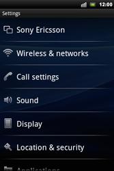 Sony Xperia Mini Pro - Internet - Manual configuration - Step 4