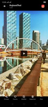 Oppo Reno 2 - Photos, vidéos, musique - Créer une vidéo - Étape 16