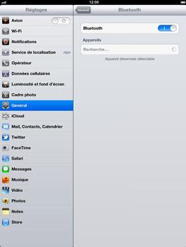 Apple iPad 4th generation - Bluetooth - connexion Bluetooth - Étape 8