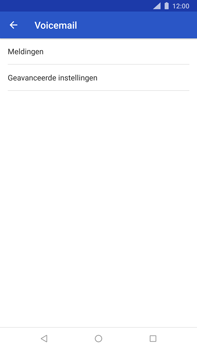 Nokia 8 Sirocco - voicemail - handmatig instellen - stap 7