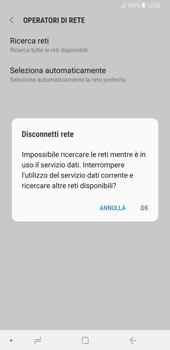 Samsung Galaxy Note9 - Rete - Selezione manuale della rete - Fase 8