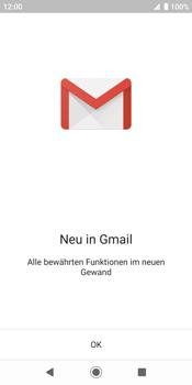 Sony Xperia XZ2 - Android Pie - E-Mail - Konto einrichten (gmail) - Schritt 5